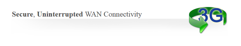 Secure, Uninterrupted WAN Connectivity