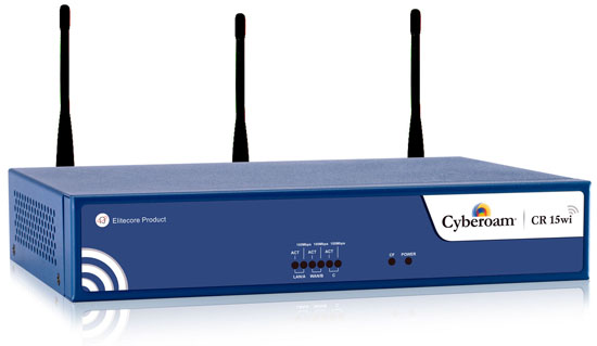 Cyberoam CR15wi Wireless UTM Appliance